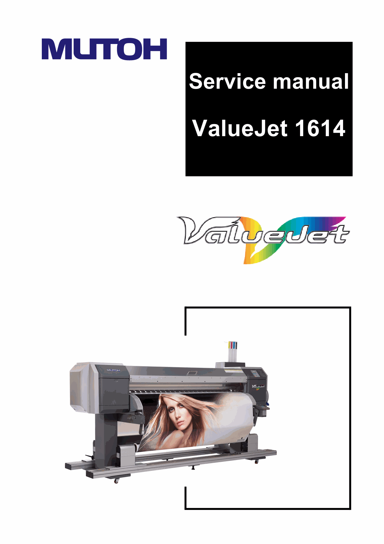 MUTOH ValueJet VJ 1614 Service and Parts Manual-1